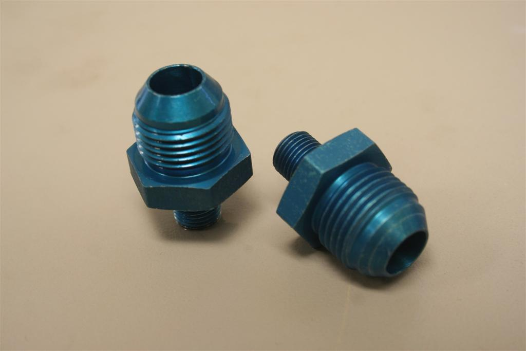 Walbro Metric to AN Adapter Fittings