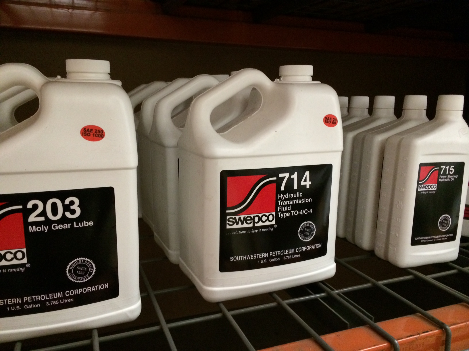 Swepco 715 Power Steering Fluid