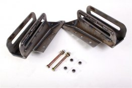 Leaf Spring Slider Box, Bolt-On, Jeep XJ Cherokee