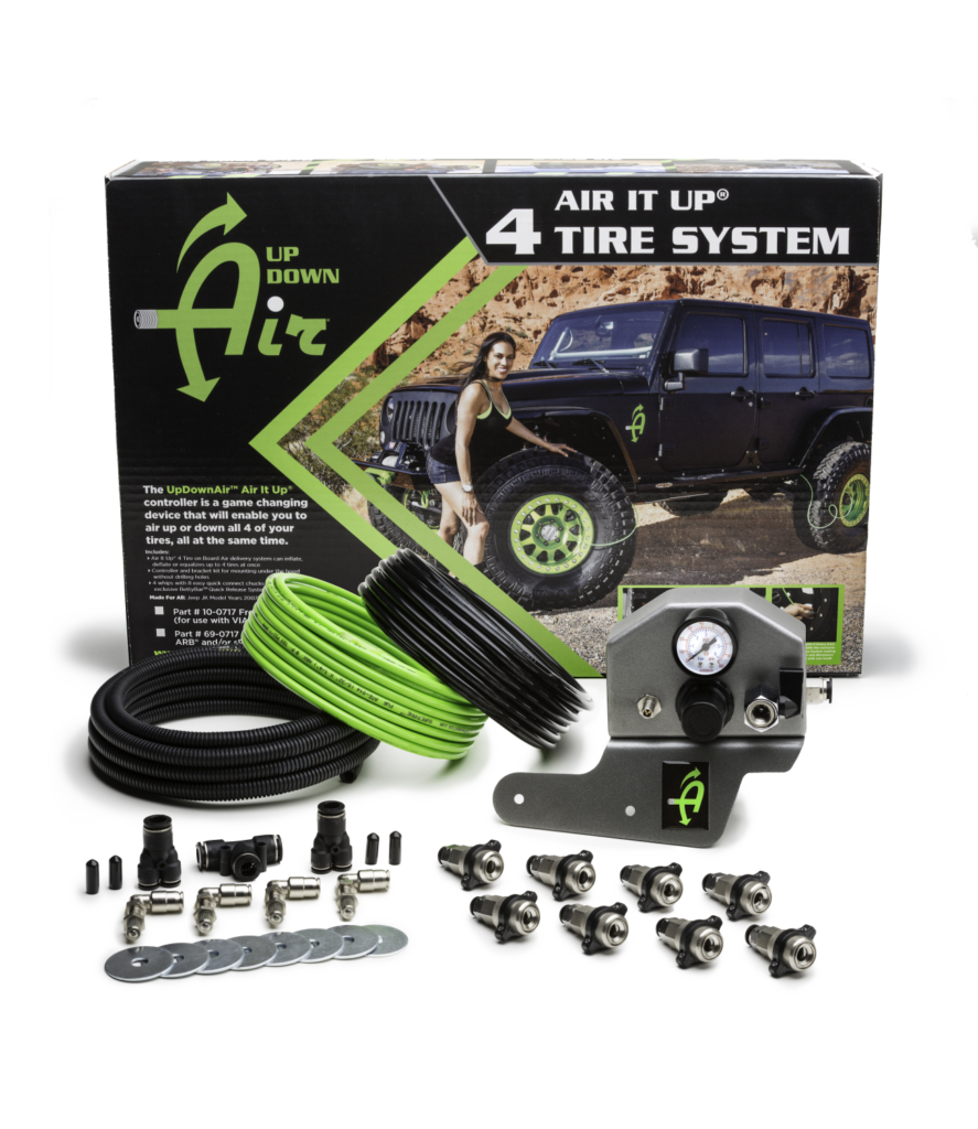 Air It Up 4 Tire Air Delivery System - Rear Mount