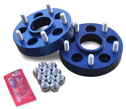 Wheel Spacers for Jeep 1987-06 Wrangler to JK Spidertrax