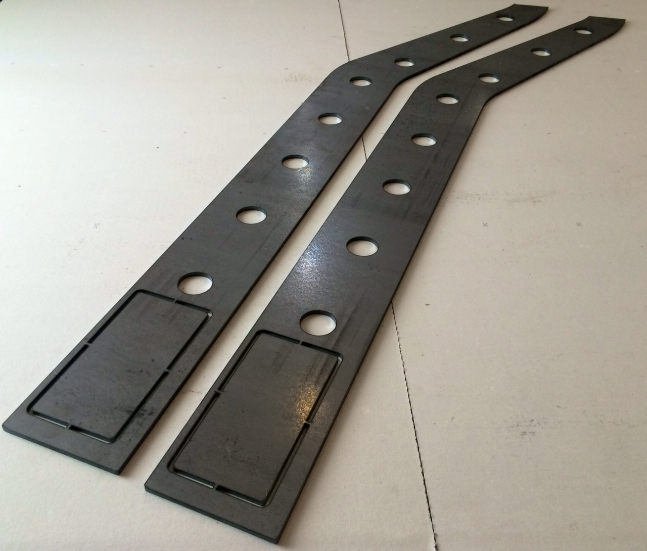 Jeep Cherokee XJ Frame Plating Kit, Rear
